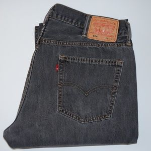 LEVI'S 514 Slim Straight Fit Stretch jeans 38/32